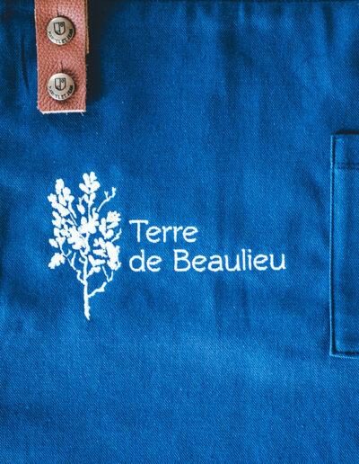 broderie logo terre de beaulieu