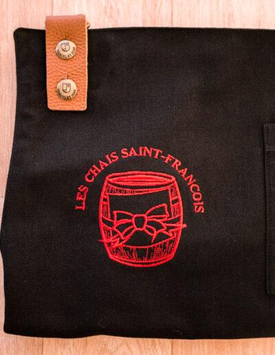 Chais saint françois broderie