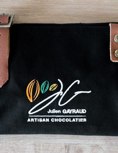 Julien Gayraud broderie logo