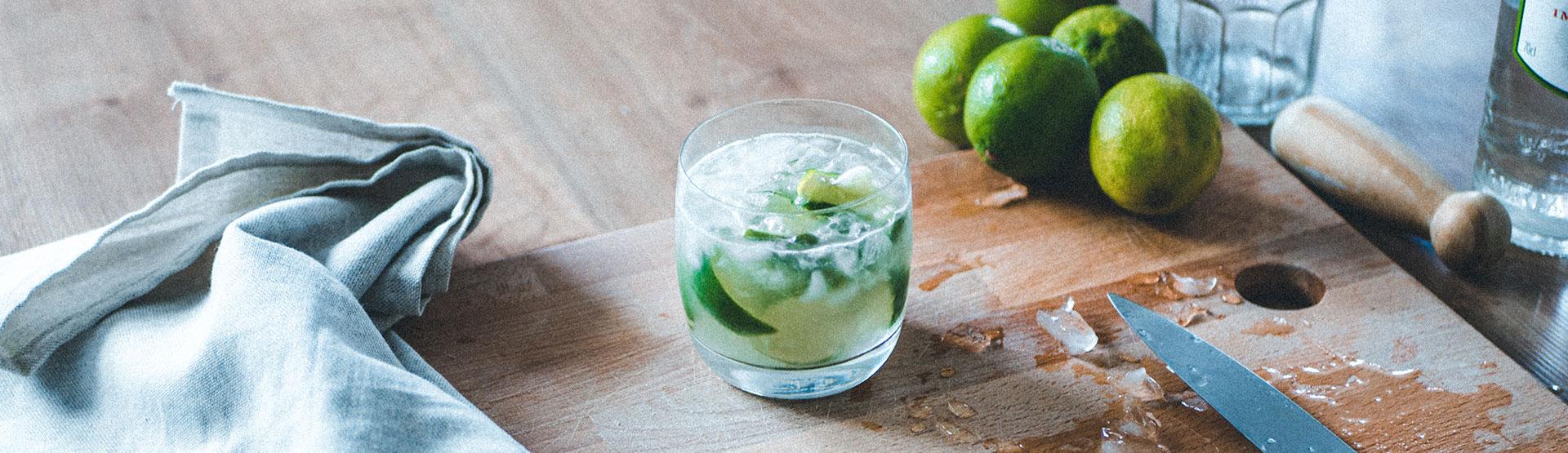 cocktail caïpirinha bannière